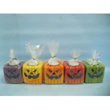 Halloween Candle Shape Ceramic Crafts (LOE2372D-7z)