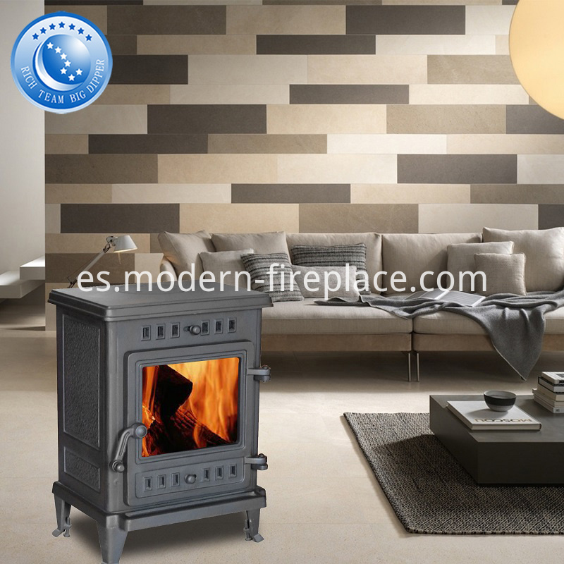 CE Certification Cast Iron Wood Stoves