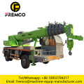 Truck Mounted Crane With Self-made Chassis