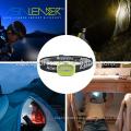 100% Bright -50% Bright 3W COB Green Headlamp
