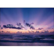 Мгновенный восход солнца Морской пейзаж Пейзаж