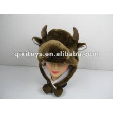 корова плюшевые и плюшевые шляпа