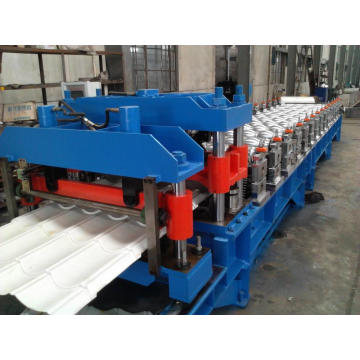 Botou Haide Corrugated Tile Steel Membuat Mesin Glazed