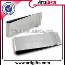 Wholesale clip de l'argent blanc en métal