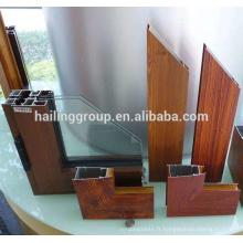 Afrique Ethiopie Poudre Revêtement Argent Anodisé Z Profil Aluminium