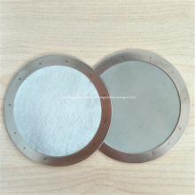 Filtro de malha de tela de arame de aço inoxidável de tecer de sarja
