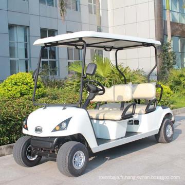 Ce chariot de golf légal de 4 places approuvé par Ce à vendre (DG-C4)