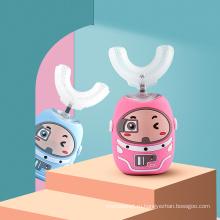 Детская электрическая зубная щетка на 360 градусов