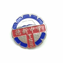 Wholesale Cheap Round Metal School Badge