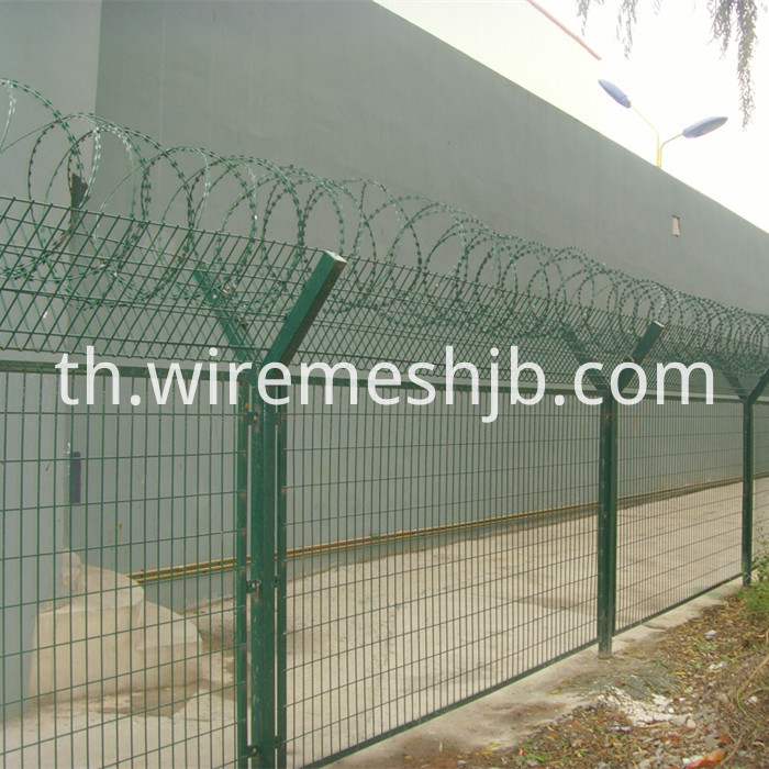 Razor Ribbon Fence
