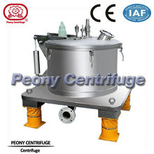 Plate Bag Lifting Top Discharge Centrifuge/ Chemical Centrifuge With Adjustable Speed