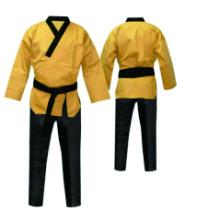 martial arts gi v-neck uniform for poomsae taekwondo