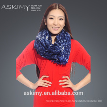 Custom 2015 New Design gedruckt Schal