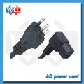 INMETRO approved brazil 12v power supply cord with IEC