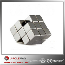 Very Strong Magnets Block/Neodymium Cube Magnets F20X20X20MM /Rare Earth Block NdFeB Supplier