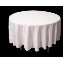 Kundengebundener Polyester-Tischdecken-Stoff des Polyester-220GSM 100% preiswerter Großverkauf