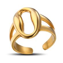 Jóias do anel de dedo do ouro das senhoras