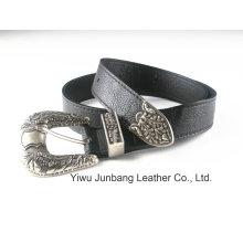 La dernière ceinture en cuir style PU de style occidental --Jbe1624