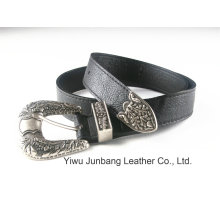 Latest Western Style PU Leather Women′s Belt --Jbe1624