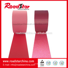 Tecido refletivo elástico colorido