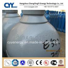 50L Oxygène Nitrogène Lar Acétylène CO2 Hydrogeen CNG 150bar / 200bar Cylindre à gaz en acier sans soudure
