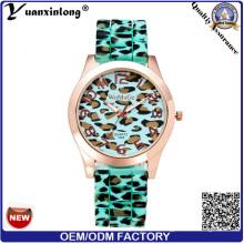 Yxl-179 Neue Design Silikon Uhr Leopard Strap Sport Casual Männer Frauen Armbanduhren Benutzerdefinierte Logo Uhren Fabrik
