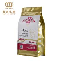 Sachet en plastique refermable d'emballage alimentaire de casse-croûte refermable de chien