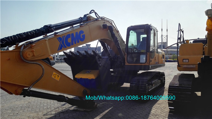 Crawler Machine Excavator