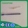 1ml Luer Lock Syringe with Needle for Medical Use