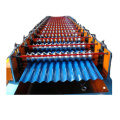 Double Deck Corrugated Roofing sheet Roll Forming Machine