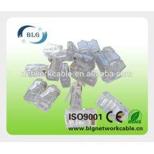 Application de réseautage et connecteur masculin masculin rj45