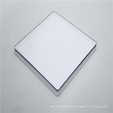 Sound barrier solid polycarbonate sheet