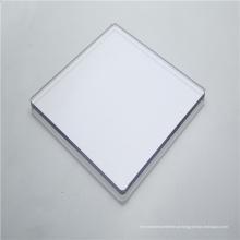 Folha de policarbonato sólido de barreira de som
