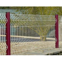 Galvanized Peach Shaped Post Fence in High Quality