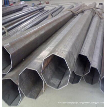 Tubo de aço Octagnal Tubo de aço com formato especial