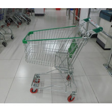 High Quality Large Size Asian Style Supermarket Shopping Cart Trolley