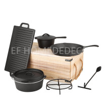 EC4013 DUTCH OVEN 9PCS SET