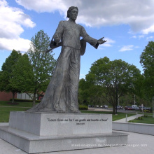 klassische Religion lebensgroße Skulptur Bronze Jesus Statue