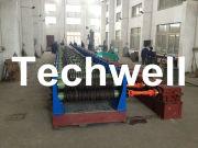 Grain Silo, Steel Corrugated Panel Roll Forming Machine For Zinc Alumina Sheet