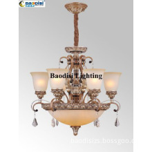 High Quality European Style Steel and Resin Material pendant lighting