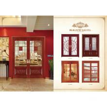 Puerta de madera de diseño más reciente