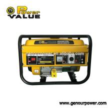 Venta caliente del generador de la gasolina 2kw! Generador Rato para importador genrator
