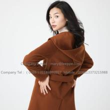 Australia Wanita Merino Shearling Long Coat