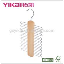 Вешалка для вешалки с массивной деревянной вешалкой с 20 держателями
