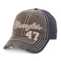 Thick Thread Embroidery Washed Cap