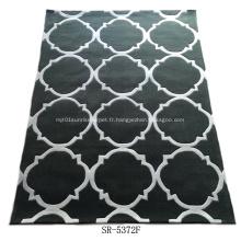 Belle main acrylique tuffeté tapis