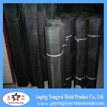 YW-- anping negro de tela de alambre / Black Metal Wire Mesh