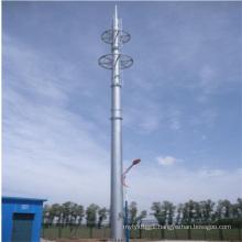 25m Single Pole Tubular Steel Tower