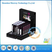 exhibiciones por menor de cosméticos con pantalla lcd de 7 pulgadas