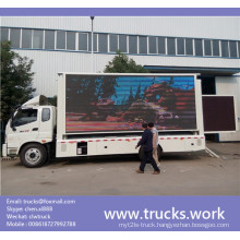 P6 P8 P10 Indoor or Outdoor LED Video Display Truck